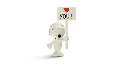 Peanuts Snoopy I love you!