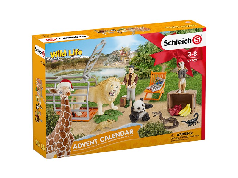 schleich spielfigur adventskalender wild life 2018 mehrfarbig schleich. Black Bedroom Furniture Sets. Home Design Ideas